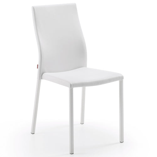 Fina Chair - Pure White, Dining Chair - Home-Buy Interiors