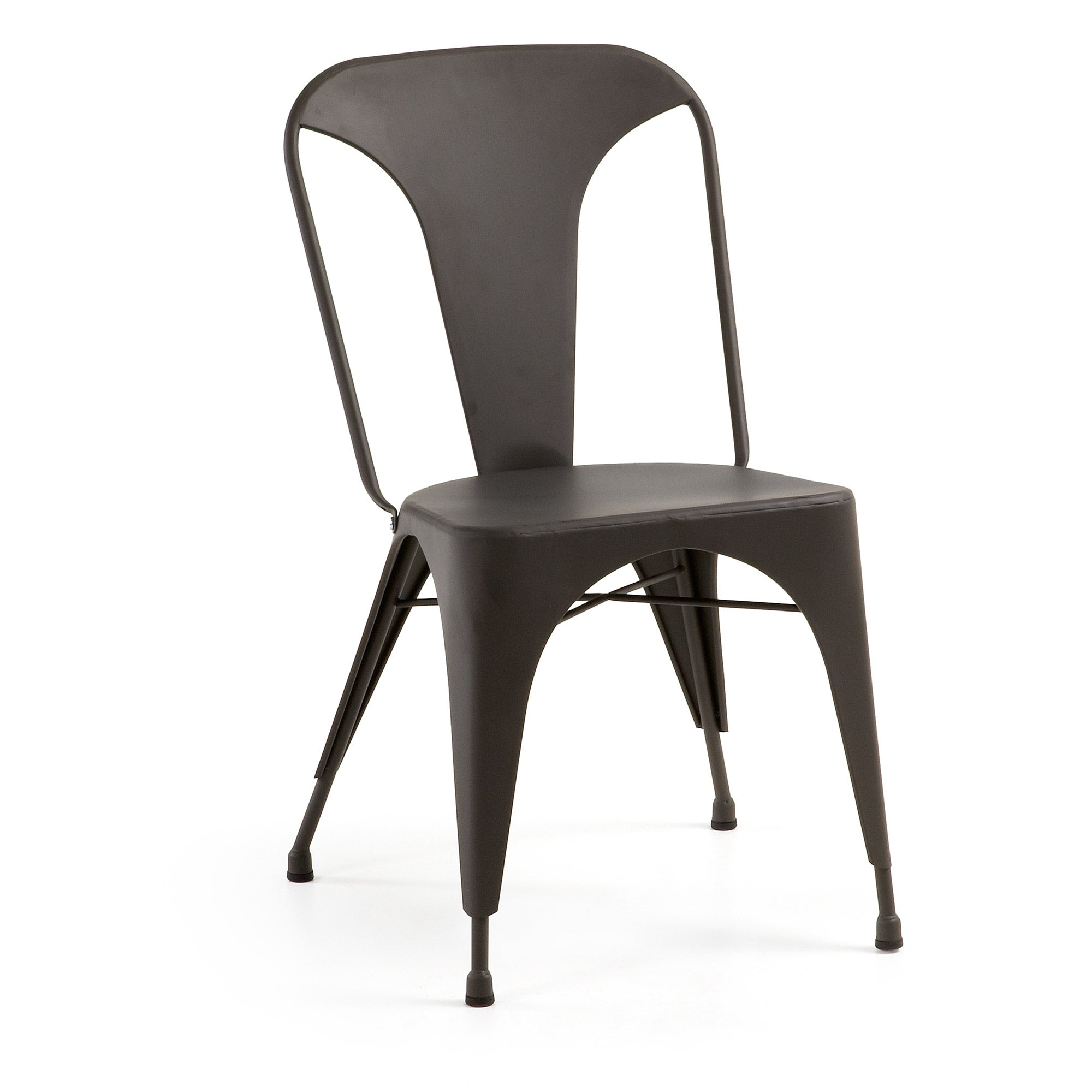 Georgi Chair - Metallic Graphite - Home-Buy Interiors