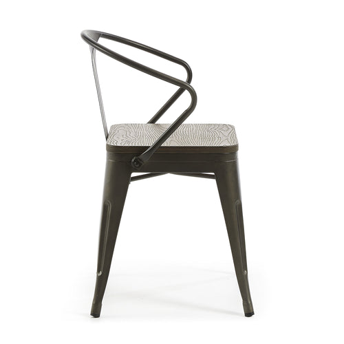 Georgi Armchair Graphite, Dining Chair - Home-Buy Interiors