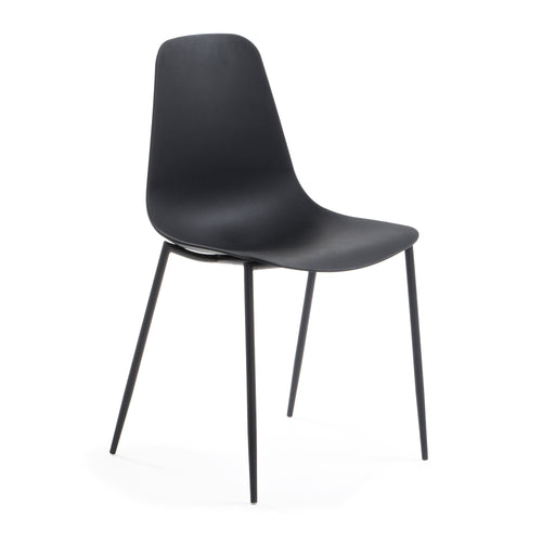 Gordi Chair - Black, Dining Chair - Home-Buy Interiors