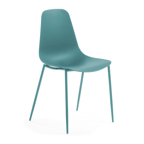 Gordi Chair - Aqua, Dining Chair - Home-Buy Interiors