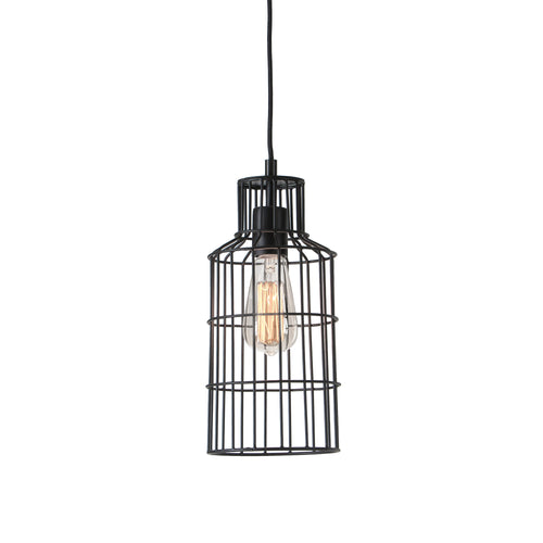 Izauah Pendant Light - Metal Black, Lighting - Home-Buy Interiors
