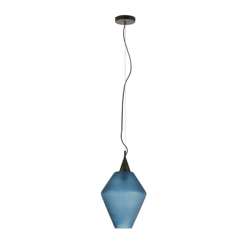 Nelson Pendant lamp glass blue,, Lighting - Home-Buy Interiors