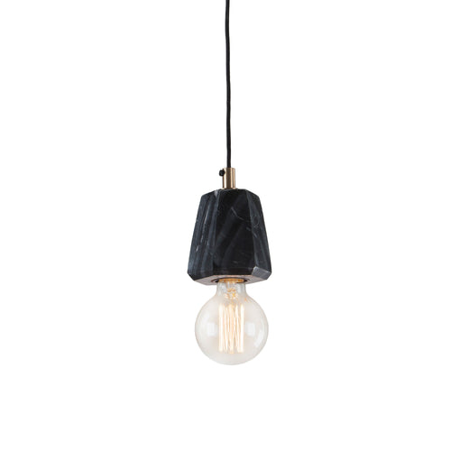 Heidi Pendant Light -  Marble Black, Lighting - Home-Buy Interiors