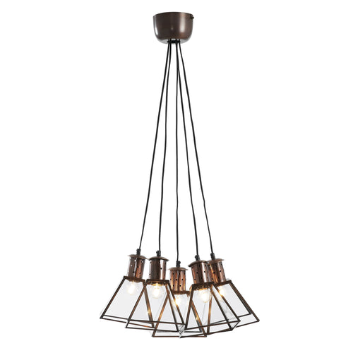 Kirra Pendant Lamp Metal Copper, Lighting - Home-Buy Interiors