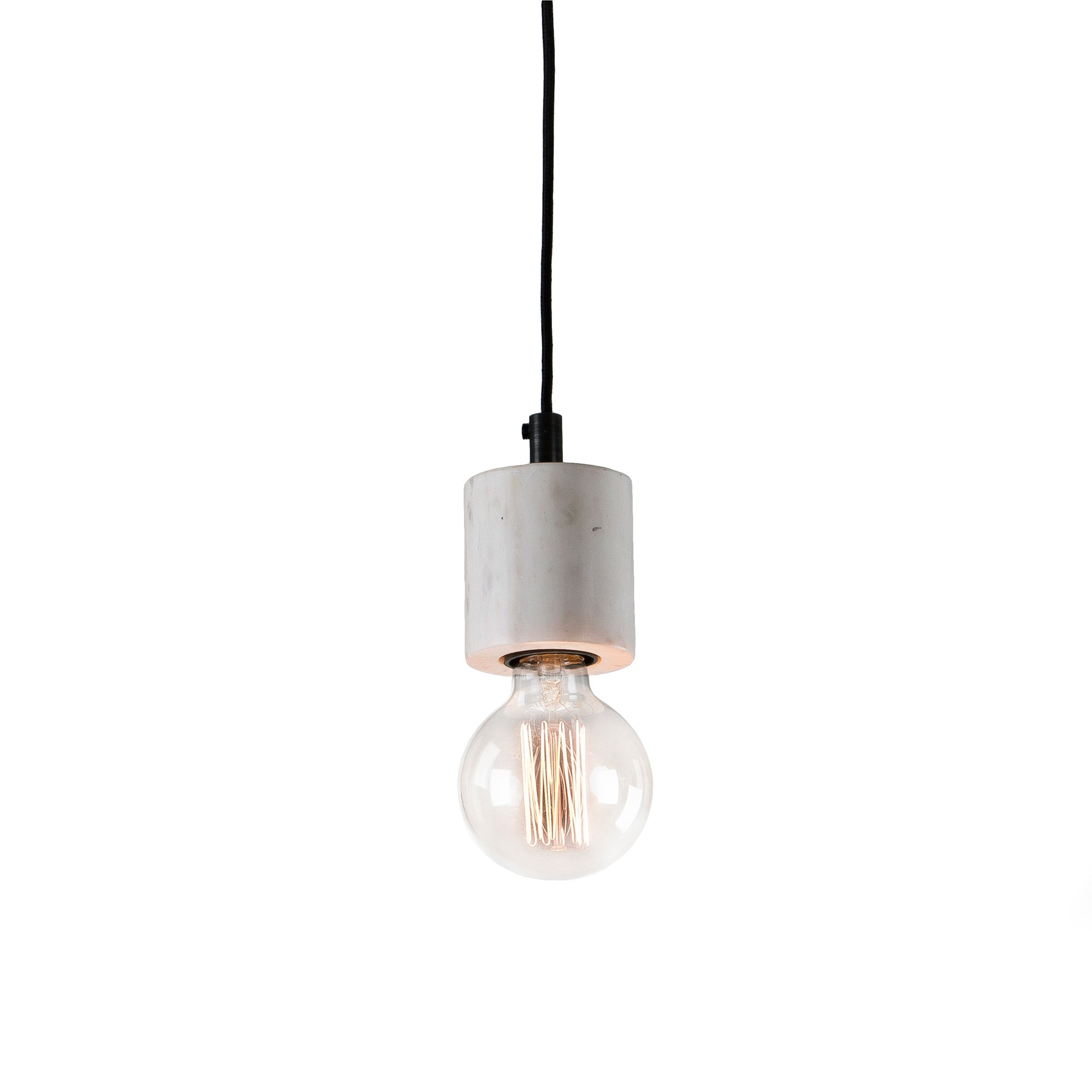 Luciana Pendant lamp marble white, Lighting - Home-Buy Interiors