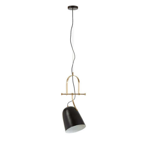 Rowan Pendant lamp metal black, Lighting - Home-Buy Interiors