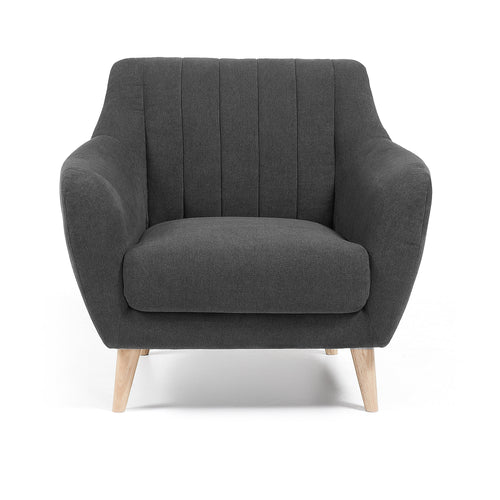 Off Armchair - Dark Grey