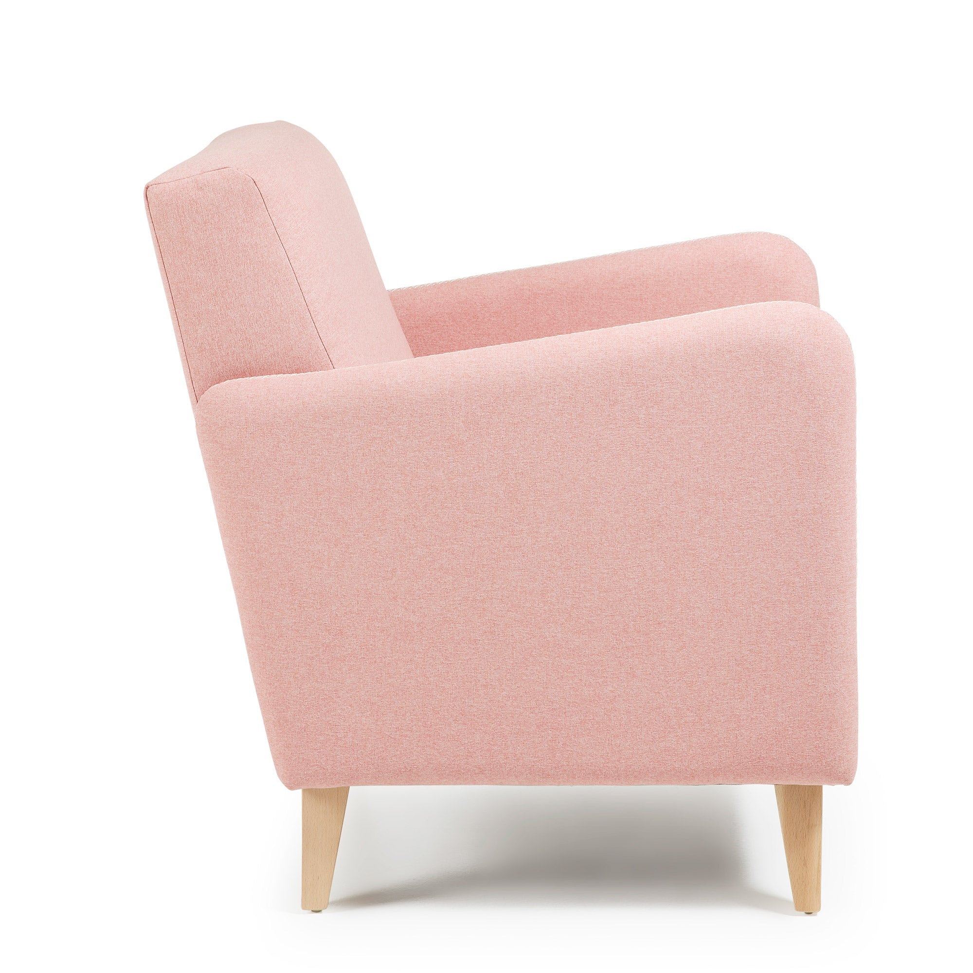 KOPA Armchair in Pink fabric, Armchair - Home-Buy Interiors