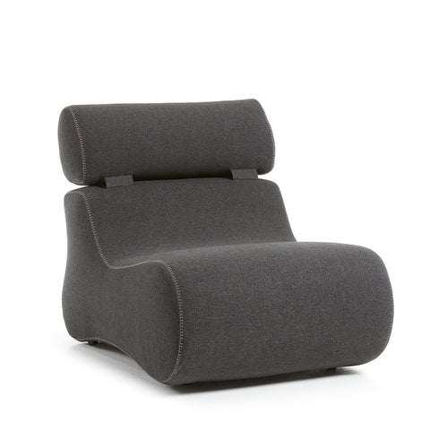 Cocoon Armchair in Anthracite Fabric