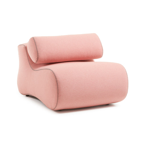 Club Armchair - Pink, Armchair - Home-Buy Interiors