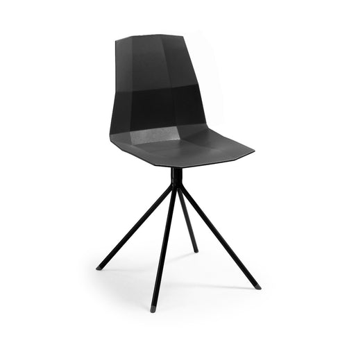 Pute Chair -Black, Chair - Home-Buy Interiors
