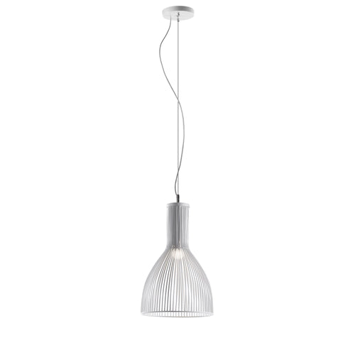 Jasper Pendant Lamp Metal White, Lighting - Home-Buy Interiors