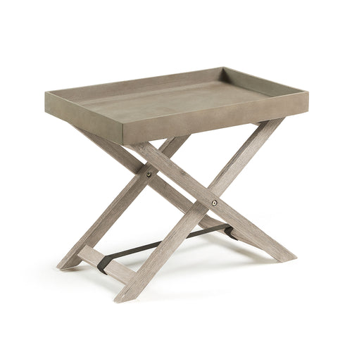 Kai Table - White Brushed Cement Brown, Decor - Home-Buy Interiors