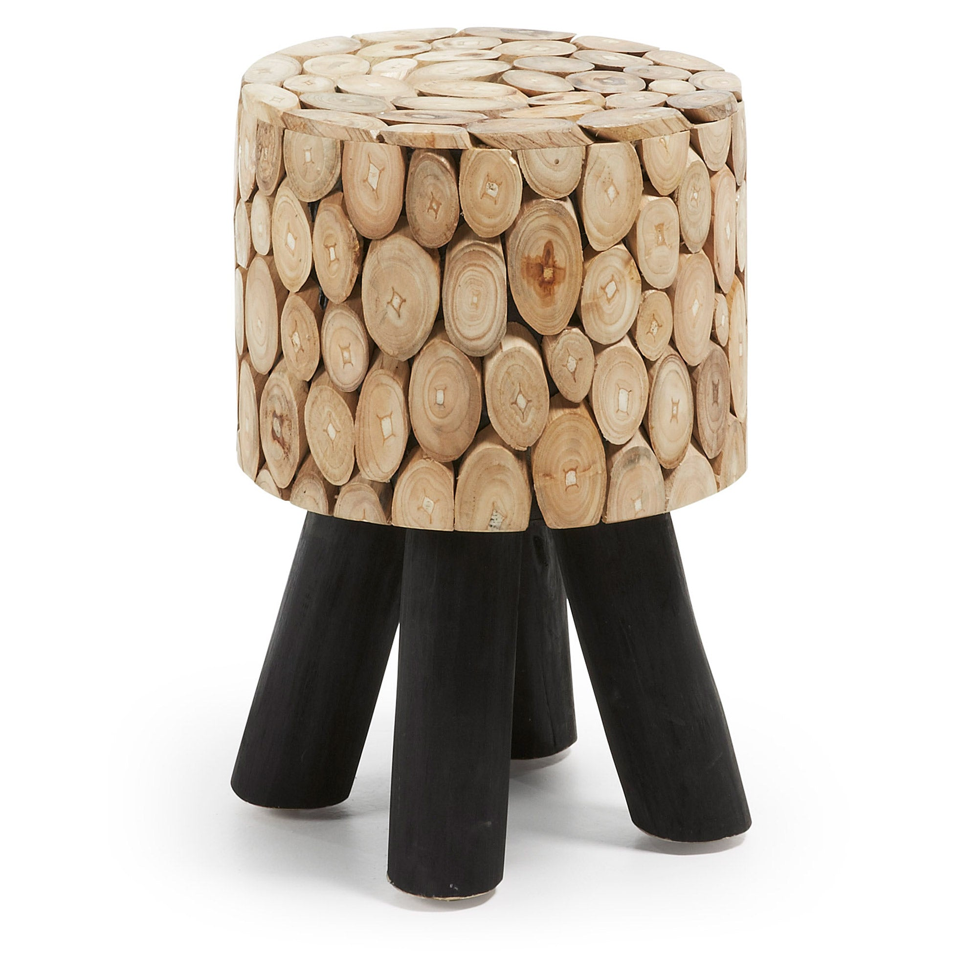Kenny Stool Teak Branches, Table - Home-Buy Interiors