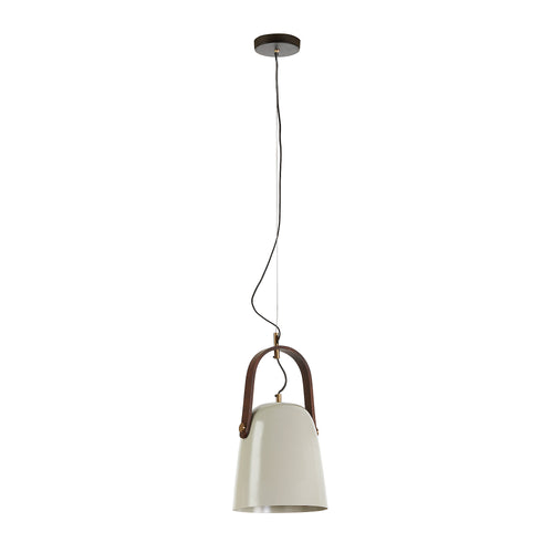Marcos Pendant Light - Metal Light Beige, Lighting - Home-Buy Interiors