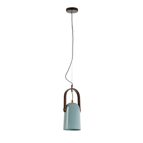 Marcos Pendant Light - Metal Light Blue, Lighting - Home-Buy Interiors