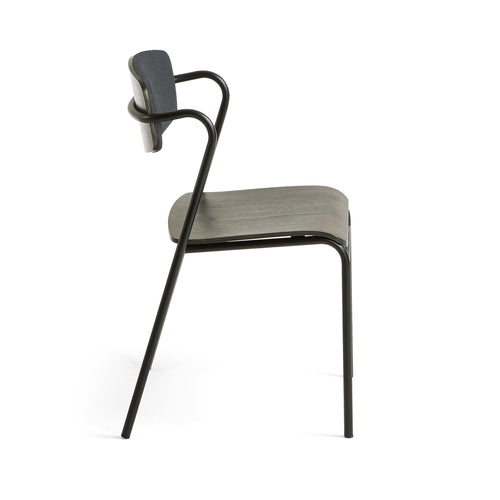 Fortina Dining Chair in Graphite