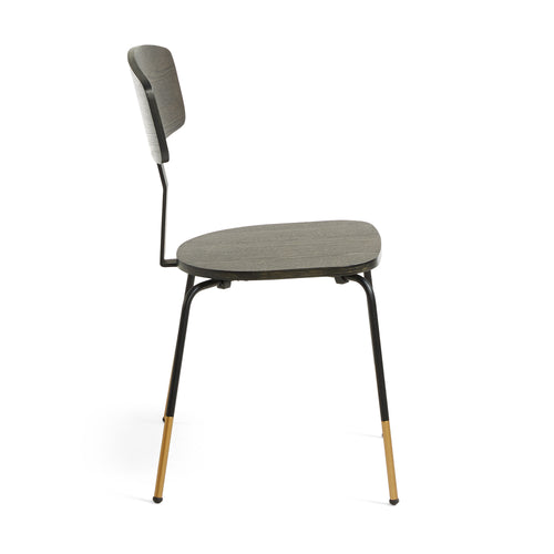 Fortina Dining Chair in Dark Ash