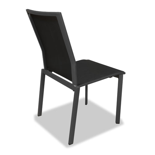 Evette Outdoor Dining Chair in Anthracite