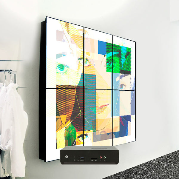 3x2 6x1 Video Wall Solution (AOPEN DEM7460)