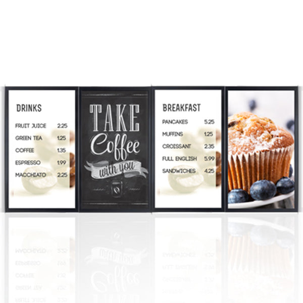 4x1 - QSR / Menu Boards Solution (AOPEN DE6140)