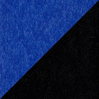 LuxCraft all-weather polywood finish sample Blue & Black - BB