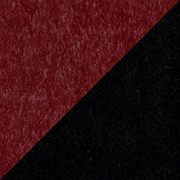 LuxCraft all-weather polywood finish sample Cherrywood & Black - CHB