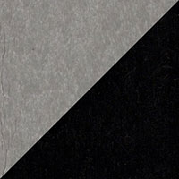 LuxCraft all-weather polywood finish sample Dove Gray & Black - DGB