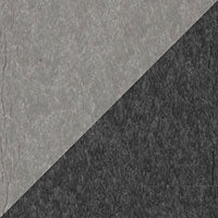 LuxCraft all-weather polywood finish sample Dove Gray & Slate - DGS