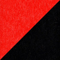 LuxCraft all-weather polywood finish sample Red & Black - RB