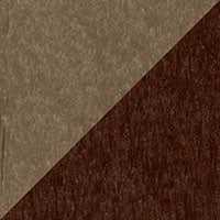 LuxCraft all-weather polywood finish sample Weatherwood & Chestnut Brown - WWCBR