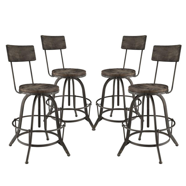 Astounding Procure Bar Stool Set Of 4 Multiple Finish Options Caraccident5 Cool Chair Designs And Ideas Caraccident5Info