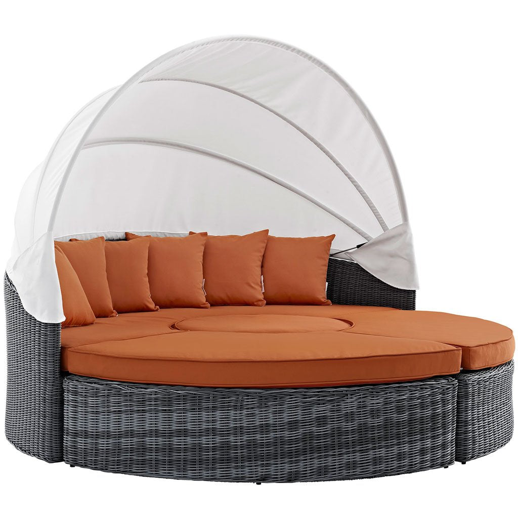 Outdoor daybed set with 1