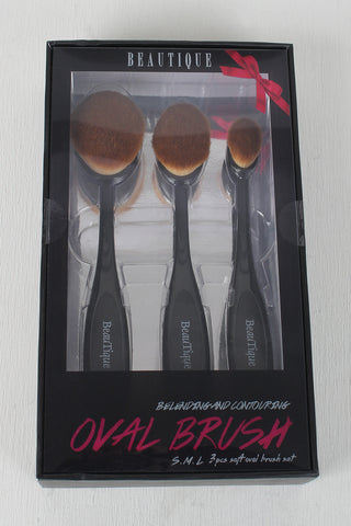 Beautique Blending And Contouring Oval Brush Set