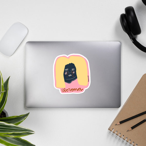 Llorona Bubble-free stickers