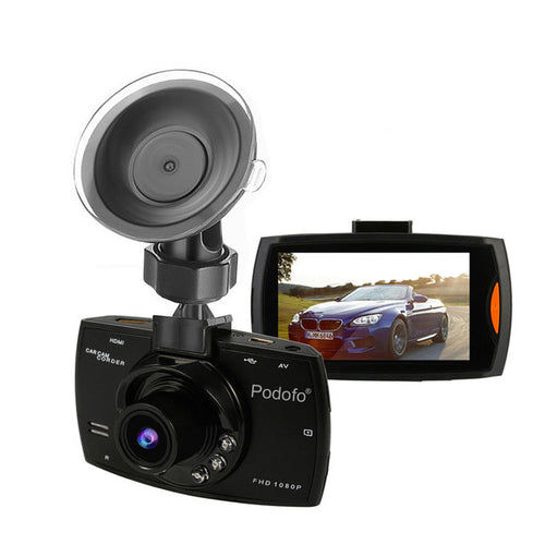Car Dash Camera Full HD 1080P with 140 Degree DVR Cam Video Registrars and G-Sensor