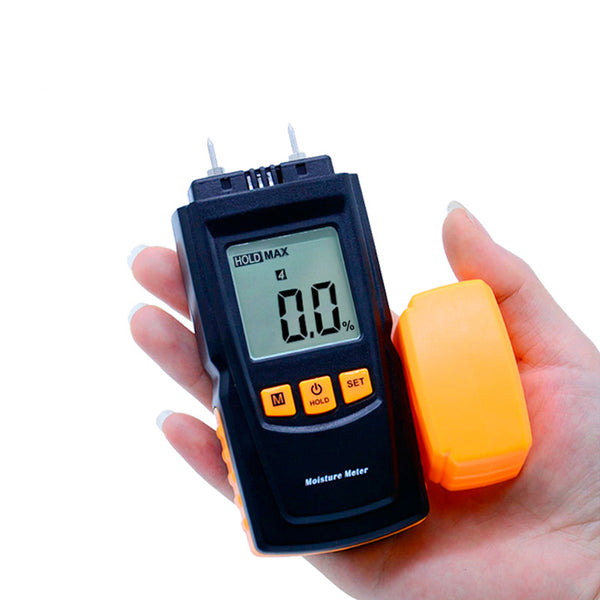 Digital LCD Display Wood Moisture Meter Humidity Tester