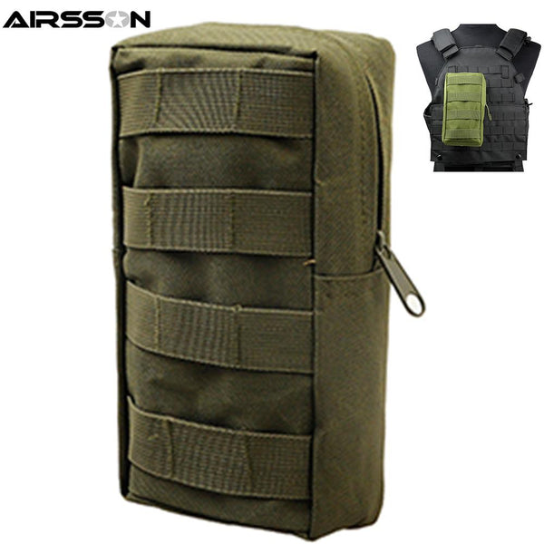 Tactical Waist Pouch Bag with 600D Nylon Molle Utility for Outdoor Gadget