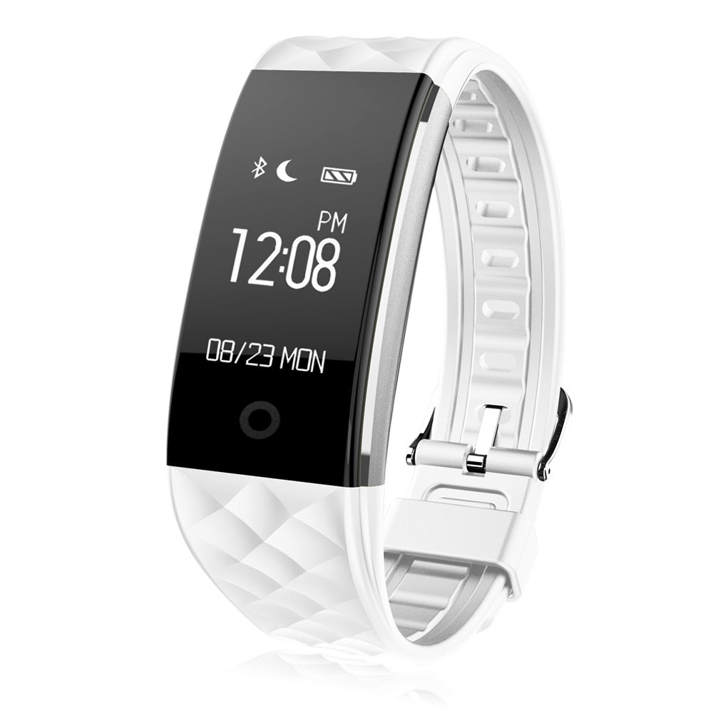 Smart Wristband Bluetooth Heart Rate Monitor Sport Fitness Bracelet Tracker For Android and IOS