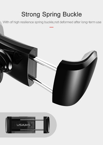 Car Air Vent Phone Holder for iPhone 7 6 5S 360 Degree Rotatable