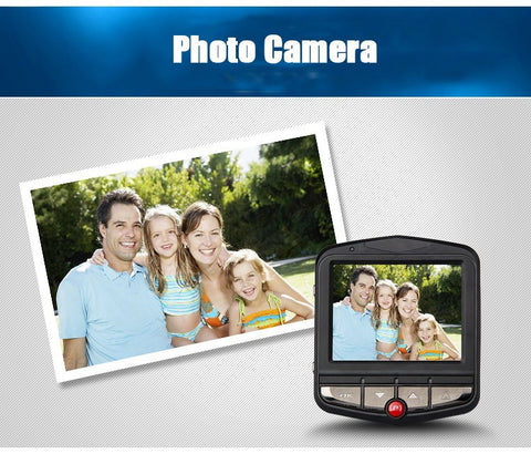 Mini Car DVR Camera Dash Cam Full HD 1080P Video Recorder G-sensor with Night Vision