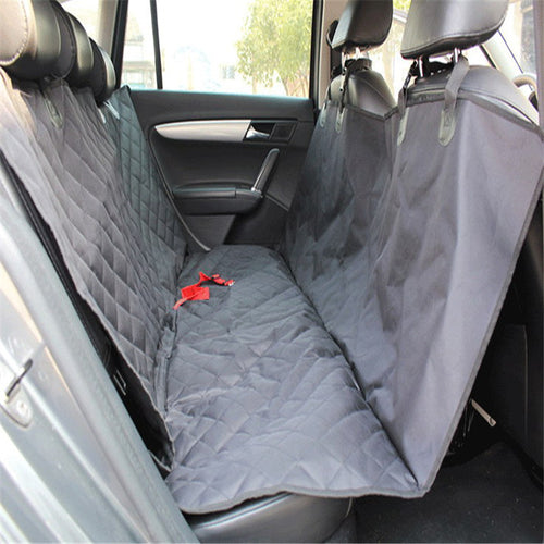600D Oxford Pet Car Seat Covers Waterproof Back Bench Seat