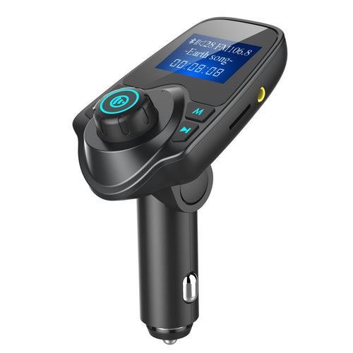 iSunnao Bluetooth FM Transmitter Car Kit - MP3 Player 3.5mm Aux Adapter