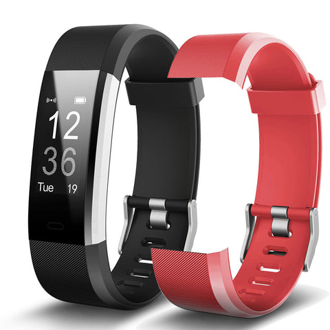 Smart Bracelet Fitness and Sleep Tracker Pedometer with Heart Rate Monitor