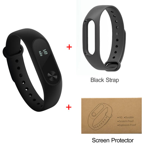 Xiaomi Mi Band 2 Smart Bracelet Wristband Fitness Tracker with Heart rate Monitor - Android & IOS