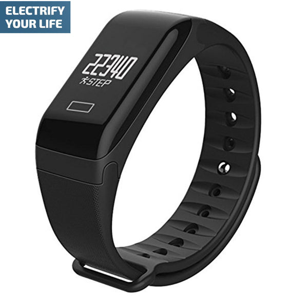 Smart Band Watch Sport Fitness Tracker HR Bracelet Sleep Quality Monitoring for iPhone & Android phones