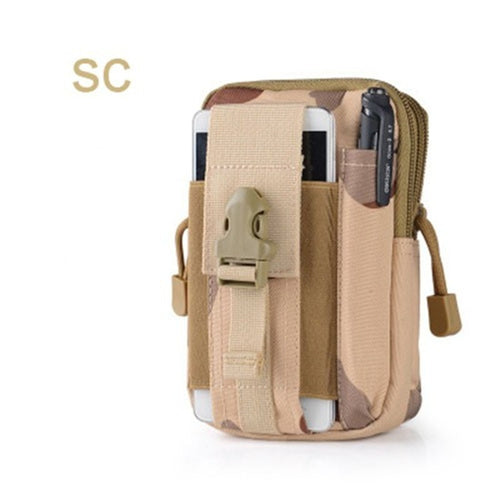 Universal Outdoor Tactical Holster Military Hip Waist Belt Bags with Phone Case For iPhone & Samsung