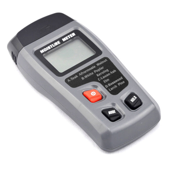Wood Moisture Meter with LCD Reading Display Range 0-99.9% Mini 2 Pins Woodworking Portable Tester Tool