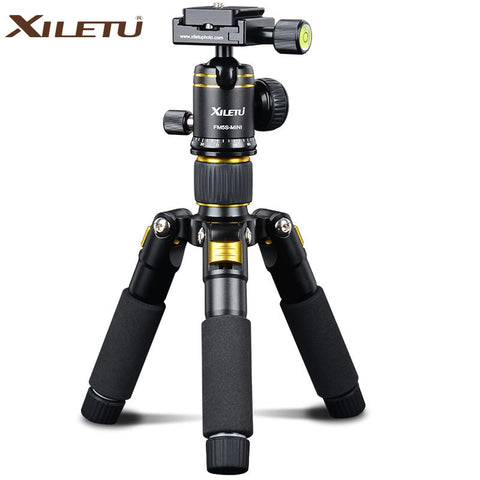 20in Portable Camera Tabletop Tripod with Ballhead and Protect Bag for Canon Nikon Sony Samsung Panasonic Olympus Cameras